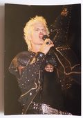Billy Idol - 'Singing' Postcard